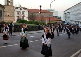 LAS MEIGAS PARTICIPARON EN LA PROCESION DEL CRISTO DEL CONSUELO