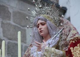 LAS MEIGAS EN LA PROCESION DE NUESTRO PADRE JESUS NAZARENO Y NUESTRA SEÑORA DE LA AMARGURA