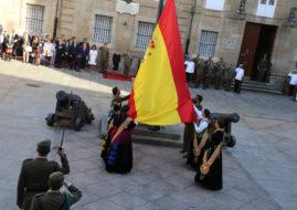 UN BRILLANTE Y EMOTIVO ACTO DE HOMENAJE A LA BANDERA CERRO LAS HOGUERAS-2017