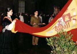 El Homenaje a la Bandera