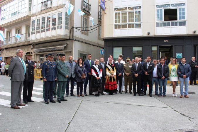 LA MEIGA MAYOR EN LOS ACTOS EN RECUERDO DEL GUARDIA CIVIL JOSE PARDINES ARCAY
