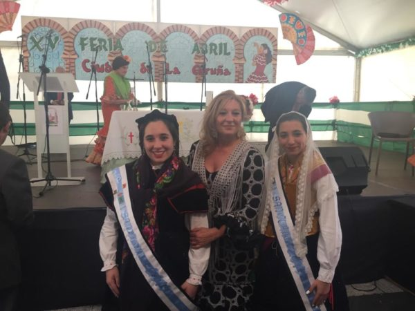 THE MEIGAS IN THE MASS ROCIERA OF THE FAIR OF APRIL