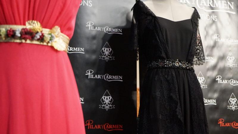Los trajes de gala fueron diseñados por la Boutigue Pilar y Carmen.