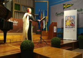 VICTORIA ALVAREZ, OFFERED HER LYRIC RECITAL IN SPORTING