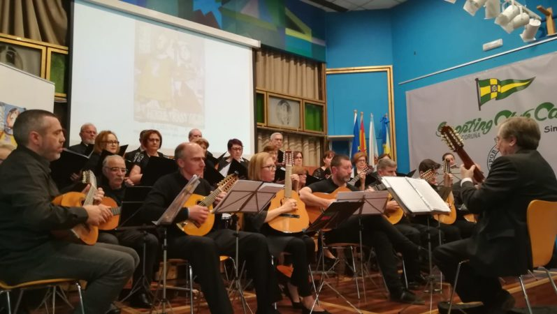 THE RONDALLA AND CORAL VILA DAS PONTES, ANIMATED THE AFTERNOON OF TODAY