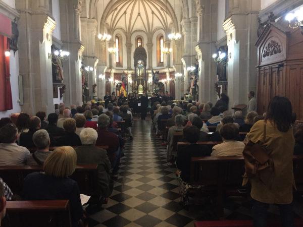 VOCALISSE, LLENO DE ECOS SONOROS LA IGLESIA DE SAN ANDRES
