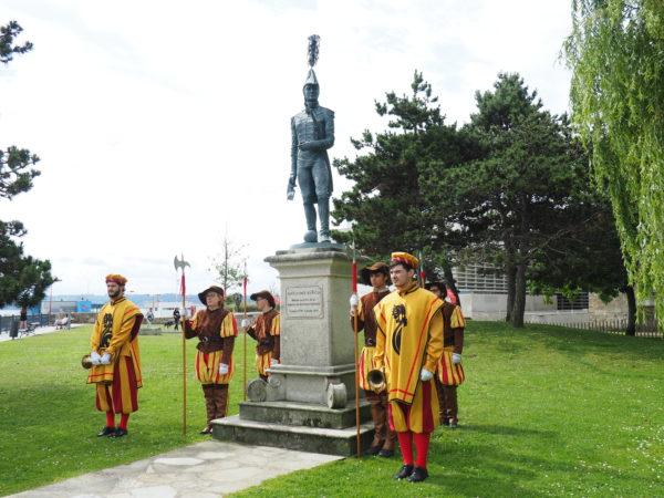 El homenaje al Brigadier D. Diego del Barco