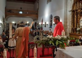 TEXT OF THE OFFERING TO SAN JUAN, PRESENTED ON AUGUST 29 BY CARMEN Mª NO VARELA