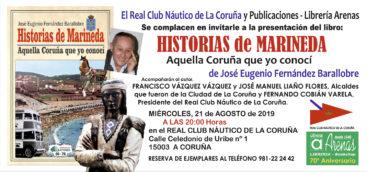 """PRESENTACION DEL LIBRO """"HISTORIAS DE MARINEDA"""""""