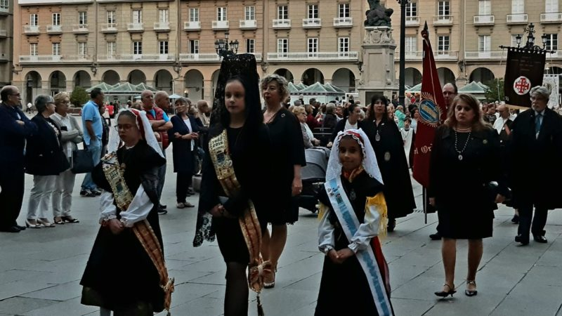 THE MEIGAS IN THE ROSARY PROCESSION