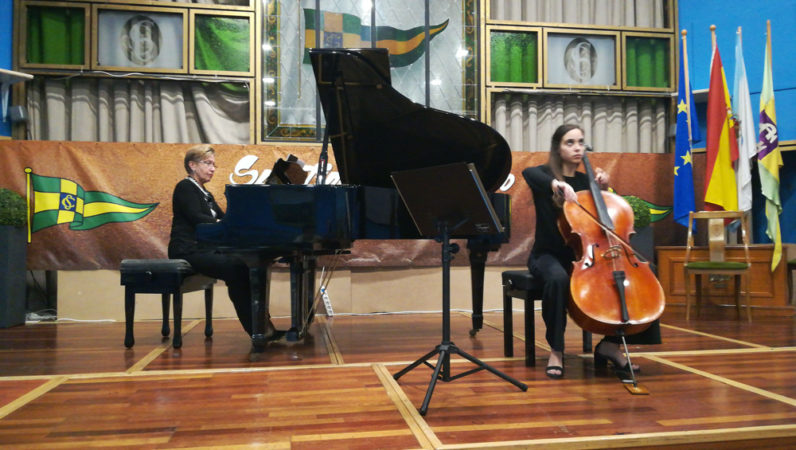 MAGNIFICENT CONCERT OF VIOLONCHELISTA ALICIA FUENTES NUÑEZ AND PIANIST IRINA MORIATOVA