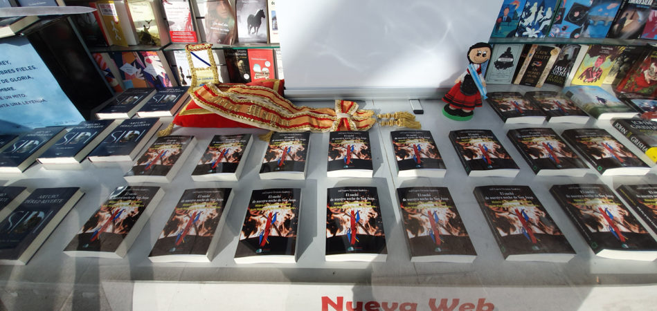 THE STORY OF THE PROMOTING COMMISSION IN THE ESCAPARATE OF THE LIBRERIA ARENAS