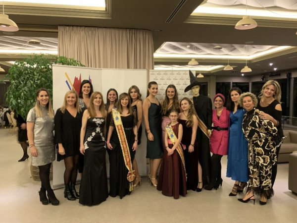THE DINNER OF THE 50th ANNIVERSARY OF THE MAJOR MEIGA IS CELEBRATED