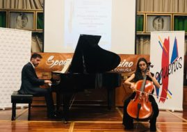 MAGNIFICENT CONCERT OF THE VIOLONCHELIST MIRIAM MILLAN FONTAIÑA AND OF THE PIANIST DAMIAN HERNANDEZ
