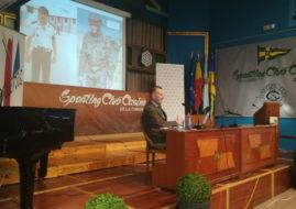 MAGNIFICA CONFERENCIA DEL GENERAL PEREZ DE AGUADO