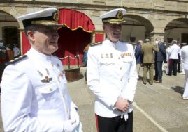 THE PRESIDENT OF THE MEIGAS ASSOCIATION INVITED TO THE NORTHERN THIRD COMMAND RELAY