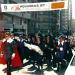 1987 hogueras Comitiva dia 23 manaña