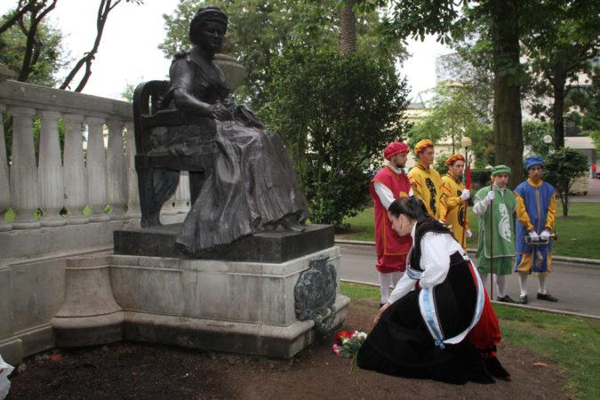 The Tribute to Mrs. Emilia Pardo Bazán