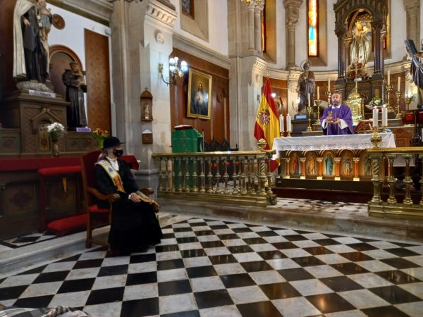 THE COMMEMORATIVE MASS WAS CELEBRATED
