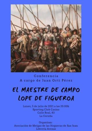 """THE FIELD MASTER LOPE DE FIGUEROA"", CONFERENCE BY GENERAL ORTI PEREZ"