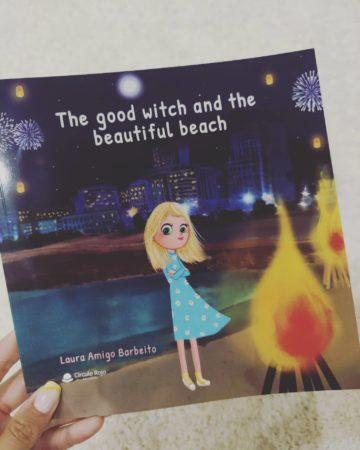 """""""THE GOOD WITCH AND THE BEAUTIFUL BEACH"""", LAURA AMIGO'S BOOK"""