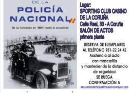 "PRESENTACION DE ""HISTORIA DE LA POLICIA NACIONAL"" DE JOSE EUGNEIO FERNANDEZ BARALLOBRE"