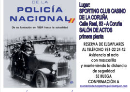 "PRESENTACION DE ""HISTORIA DE LA POLICIA NACIONAL"" DE J. EUGENIO FERNANDEZ BARALLOBRE"