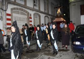 Las Meigas and the procession of the Santísimo Cristo del Consuelo