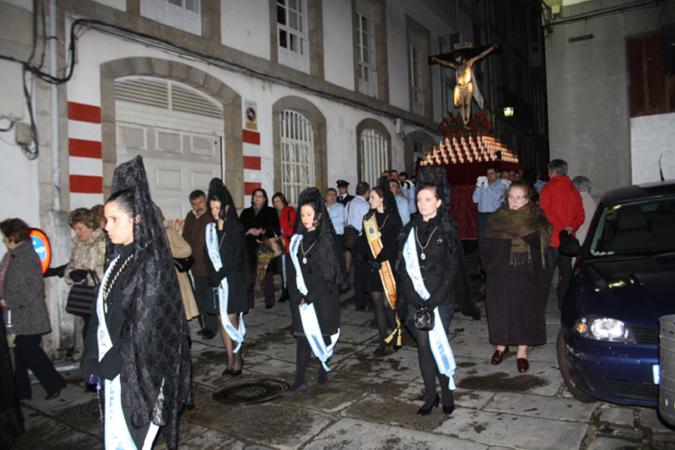 Las Meigas y la procesión del Santísimo Cristo del Consuelo